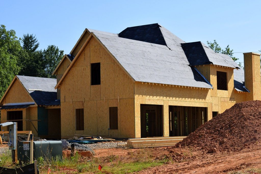 new home, construction, build